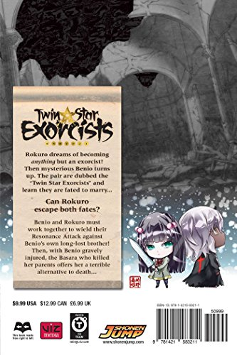 Twin Star Exorcists Volume 4