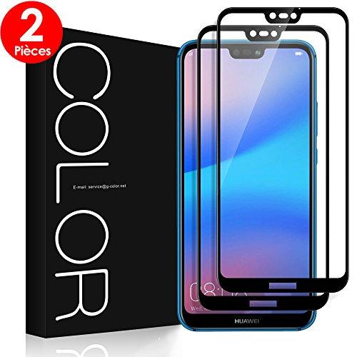 023bc9f241f G-Color Verre Trempé Huawei P20 Lite  2 Pièces