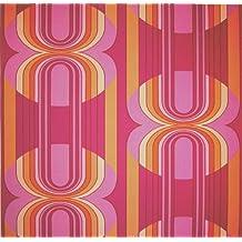 Tapeten Der 70er suchergebnis auf amazon de für retro tapete 70er
