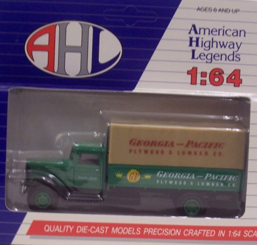 hartoy-03032-georgia-pacific-plywood-lumber-co-canvas-back-truck-1-64-by-hartoy
