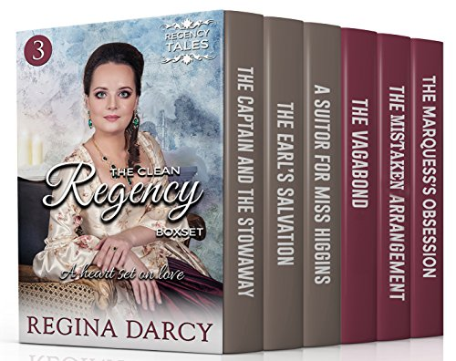 A heart set on love (6 Book Regency Romance Box Set) (The Clean Regency Boxset 3) (English Edition) por Regina Darcy