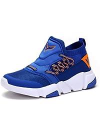 VITIKE Boys Girls Mesh Sneaker Outdoor Athletic Slip On Casual Running Shoes Lightweight Sneakers(Toddler/Little Kid/Big Kid)