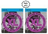 #5: D'Addario EXL120 Nickel Wound Electric Guitar Strings, Super Light, 9-42 (2 Pack)