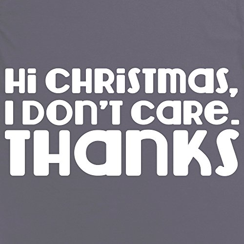 Hi Christmas T-Shirt, Herren Anthrazit