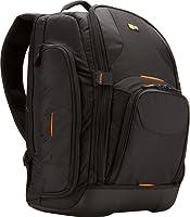 Case Logic SLRC206 Sac à dos semi-rigide pour appareil photo reflex, Ordinateurs portables 16 pouces et le MacBook Pro 17 pouces (Noir)