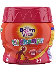 Bournvita Little Champs Pro-Health Chocolate Drink, 200 gm Jar