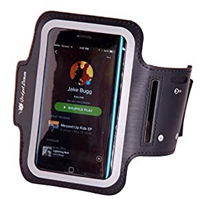 Runner's Sport Armband for Apple iPhone 4 or 5 or iPod Touch - for men and women - for jogging, walking and all work outs - AT&T, Verizon and Sprint - reliable, best quality - perfect fit - protect your investment - satisfaction guaranteed
