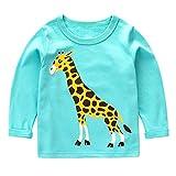 Jungen Langarmshirt Little Hand Cosy Pullover Baumwolle Kinder Sweatshirts 98 104 110 116 122 98/2-3 Jahre