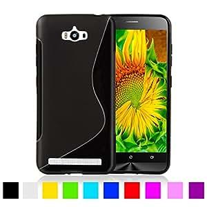 Zenfone Maxx Magic Brand S-Line Black Soft Silicon Back Cover Case