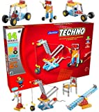 Nabhya Junior Techno - Engineering Toy Kit - Educational Toy - Building Blocks and Models Construction Set (Age 5 to 12)