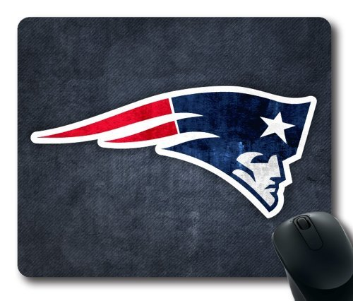 Preisvergleich Produktbild New England Patriots NFL Mouse Pad,  Customized Rectangle Mousepad Diy By Bestsellcase