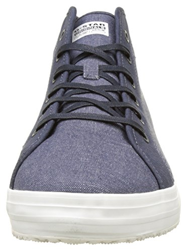 G-STAR RAW Kendo Mid, Sneakers Hautes Homme Bleu (Chambray 3735)