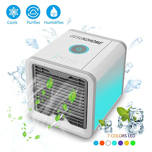 climatiseur portable ventilateur usb muitifonction 3 en 1mini climatiseur humidificateur. Black Bedroom Furniture Sets. Home Design Ideas
