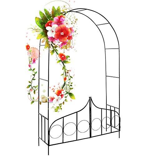 arceau-de-rosier-arcade-rose-lierre-jardin-porte-verrouillable-240x140x40cm