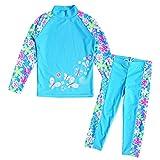 HUAANIUE Badeanzug UV-Schutz Bade-Set Schwimmbekleidung Badebekleidung Strandkleidung