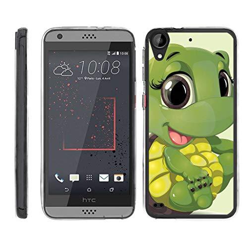 turtlearmor | Kompatibel für HTC Desire 530Fall | Desire 630| Desire 550[Armor] Flexible Ultra Slim Flexibel TPU Hülle Case Klar Spannbettlaken Soft Bumper Cover Animal Design -, Baby Turtle (Htc Desire Virgin Mobile Fall)