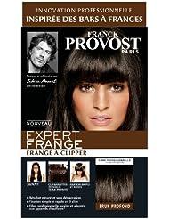 Franck Provost - Expert Frange à Clipper Brun Profond 56 cm