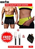 KECKTUS Best Quality Unisex Body Shaper for Women | Men XL Size 34,35,36,37,38 of Stomach Size consider with Free WEMAKE ANDROID CABLE & Also OTG