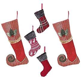 Lusso calza di Natale Family set – 2 Berry rosso 9019357f5040