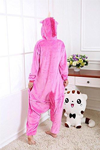 a36e95b75e Dulce Unicornio Pijama Felpa Trajes En general Ropa de dormir Ropa de noche  Ropa de salón Para niños y adultos - Compra pijamas y zapatillas casa