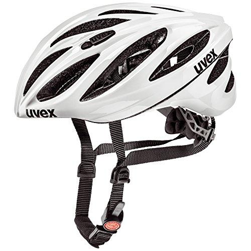 Uvex Fahrradhelm Boss Race, White, 55-60, 4102290217