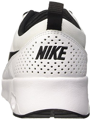 Nike Wmns Air Max Thea, Baskets Basses Femme Blanc (102 WHITE/BLACK-WHITE)