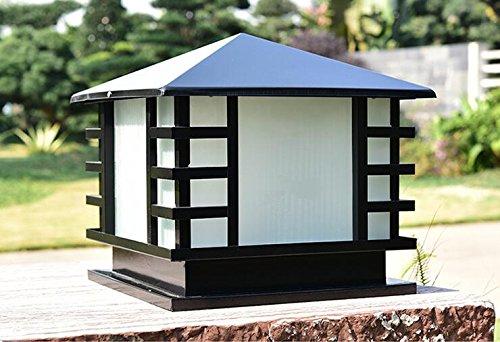 Post-leuchte (WGJ Post Lichter/Leuchten/Wand Lampen/outdoor wasserdichte Lichter/Lampe/led-Style Villa Tür Gartenleuchten , medium)