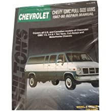 Chevy-Gmc Full Size Vans, 1987-90 Repair Manual