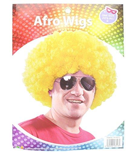 fro Perücke Kostüm Zubehör jeder gewünschten Outfit in Gelb (Farbige Perücken)