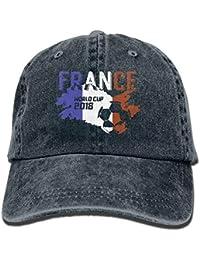 Men Women France Soccer Jersey 2018 World Cup Adjustable Vintage Baseball  Caps Washed Cowboy Dyed Denim 5ea9ff3a8694
