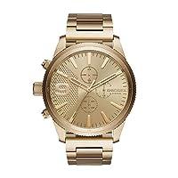 Diesel Men's Quartz Stainless Steel Casual Watch, Color:Gold-Toned (ModelDZ4446)
