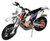 alles-meine.de GmbH K-T-M 350 EXC-F Six Days Argentina Weiss 2015 Enduro 1/12 K-T-M Modell Motorrad mit individiuellem Wunschkennzeichen