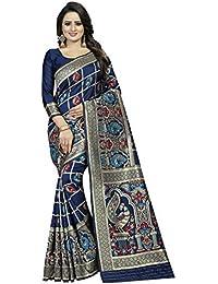 Friends Deal Fashion Jacquard Saree (Blue-More-Saree_Blue_5.5 Meters)