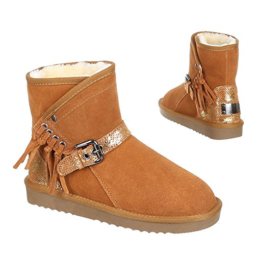 Chaussures, 5803 bOOTS Marron - Camel 2