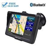 awesafe Bluetooth Sat Nav for Cars GPS Navigation System 7 inch 8GB 256MB
