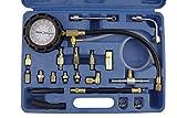 Tester di compressione della Benzina manometro drucktester impianto iniezione Tester