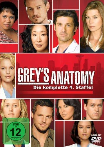 Grey's Anatomy: Die jungen Ärzte - Die komplette 4. Staffel [5 DVDs] (Katherine Dvd Heigl-filme)