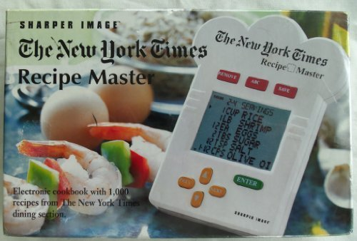 sharper-image-new-york-times-recipe-master-electronic-cookbook-with-1000-recipes-from-the-new-york-t