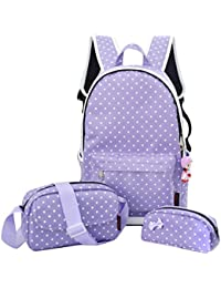 4Pcs Cute School Bag Set School Backpacks For Teen Girls Schoolbag