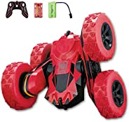 Remote Control Car, RC Stunt Car, 360 Degree Flips Double Sided Rotating Tumbling High Speed 2.4GHz and 7.5Mph