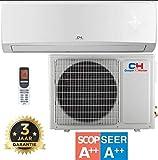 Cooper & Hunter VERITAS CH12FTXQ - WiFi WLAN Inverter Split Klimaanlage mit Wärmepumpe/Klima Splitgerät und Heizung - 12000 BTU, 3,5 kW, Raumgröße bis 120 m² - 3 Jahre Garantie [Energieklasse A++]