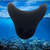 Sw-ning mignon Queue de poisson de natation Pied Flipper pour adulte enfant Swim fin plongée maillots de bain plongée avec tuba équipement d'entraînement de l'eau froide Toys, noir, petit