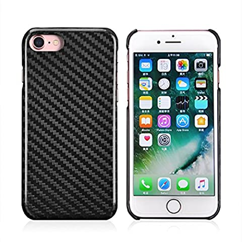 pour iPhone 6 Plus 6s Plus Coque en 100% Fibre de Carbon pour iPhone / s Carbon Fiber Case for iPhone 6 Plus en Real carbon fiber Glossy / Brillante ou