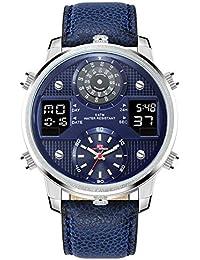 a4c8a382964d YUNDING Reloj Deportivo Reloj Acuático De 50 Metros Reloj Inteligente  Bluetooth con Puntero Digital Pantalla De