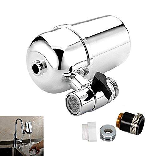 TJW Wasserhahn Wasser Filter von, Leitungswasser Luftreiniger Filter,, Wasser Purifying Gerät für Küche mit Kartusche -