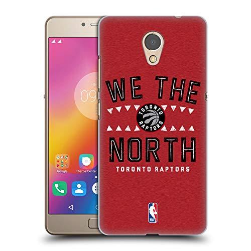 Head Case Designs Offizielle NBA Raptors We The North 2018/19 Team Slogan 2 Harte Rueckseiten Huelle kompatibel mit Lenovo P2 / Vibe P2