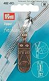 Prym Ersatzzipper für Reißverschluss, Sport, Antikes Messing, 1 Stück