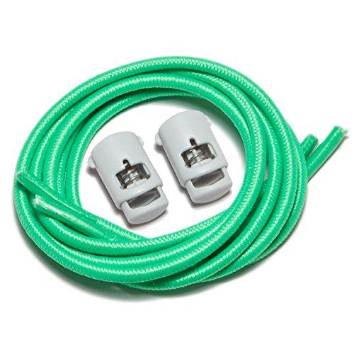 Speedlaces iBungee–Lacci elastici per scarpe Florida Green
