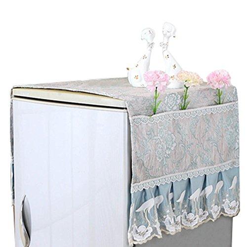 Réfrigérateur Blanchisserie Housse anti poussière Sacs de rangement 140x55cm,o