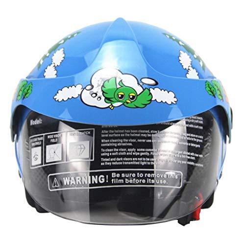 OLEEKA Niños encantadores Cantoon casco bicicleta